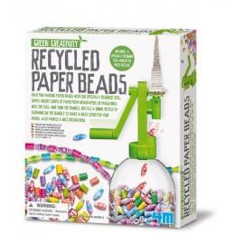 Recycle Papieren Kralen set