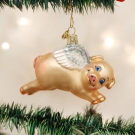 Kerstbal Vliegend Varken