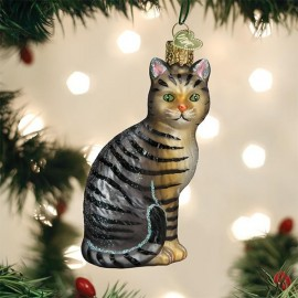 Kerstbal Cyperse Kat