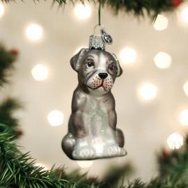 Kerstbal Pitbull Pup