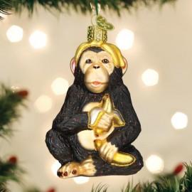 Kerstbal Chimpansee