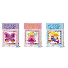 Raam Mozaiek Knustsel pakket  mini