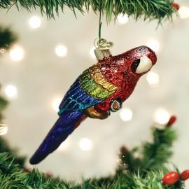 Kerstbal Tropische Papegaai