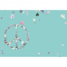 Enveloppe Peace en Bloemen