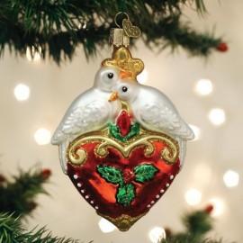 Kerstbal Tortelduiven