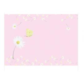 Enveloppe Roze Madeliefjes