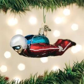 Kerstbal Skydiver