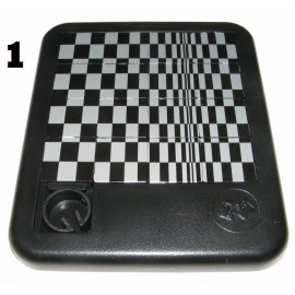 Schuifpuzzel Optical illusion Zwart/Wit