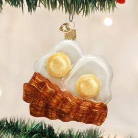 Kerstbal Eieren met Spek