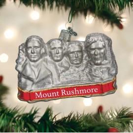 Kerstbal Mount Rushmore