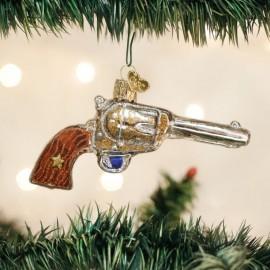 Kerstbal Cowboy Revolver