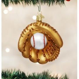 Kerstbal Honkbal Handschoen