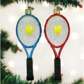 Kerstbal Tennis Racket