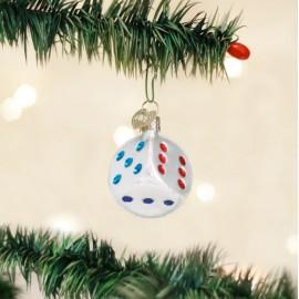 Kerstbal Dobbelsteen