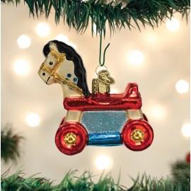 Kerstbal Speelgoed Paard