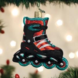 Kerstbal Inline Skate