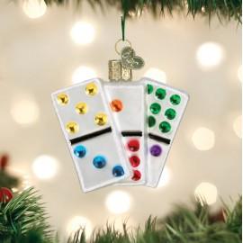 Kerstbal Domino