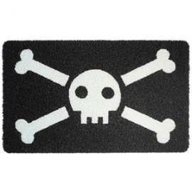 Deurmat Skull Jolly Roger