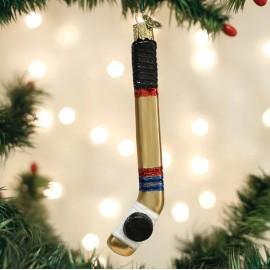 Kerstbal Hockey Stick