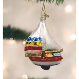Kerstbal Zeilboot
