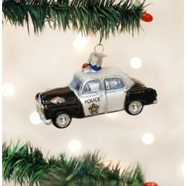 Kerstbal Politieauto