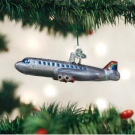 Kerstbal Passagiersvliegtuig