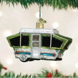 Kerstbal Vouwwagen