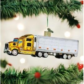 Kerstbal Vrachtwagen