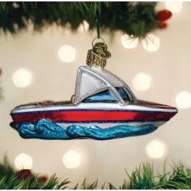 Kerstbal Skiboot
