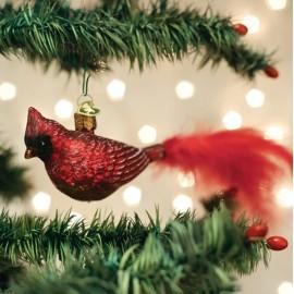 Kerstbal Rode Kardinaal
