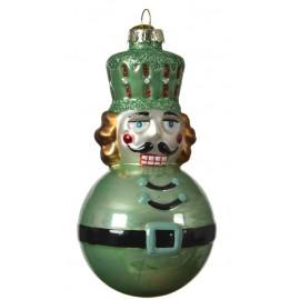Kerstbal Notenkrakerbal Groen