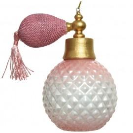 Kerstbal Parfum Roze
