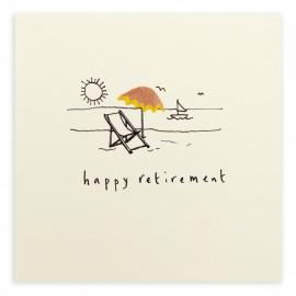 Dubbele kaart Happy Retirement