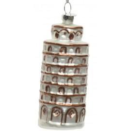Kerstbal Toren van Pisa