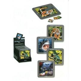 Magic 3D puzzel Natuur 16-delig Tijger