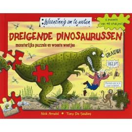 Dreigende Dinosaurussen Monsterlijke Puzzels En Woeste Weetjes 2e Hands