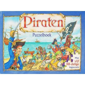 Piraten Puzzelboek 2e Hands