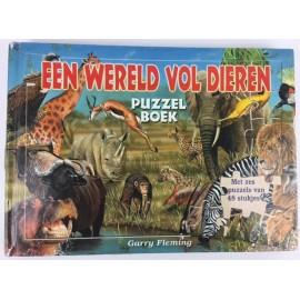 Een wereld vol dieren Puzzelboek 2e Hands
