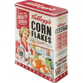 Retro Blik XL Corn Flakes Quality Cereal
