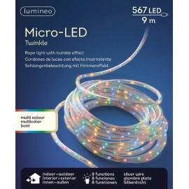 9 Meter Multicolor 567 lichts Micro LED Snoer 8 Functies Twinkel Effect