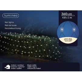 4,8 Meter 360 lichts Led Net Warm Wit
