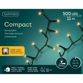 Kerstboomlampjes 11 Meter 500 Led Klassiek Warm