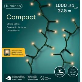 Kerstboomlampjes 22,5 Meter 1000 Led Klassiek Warm