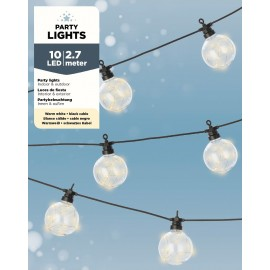 10 Lichts Micro Led Snoer 2,7 Meter Warm Wit