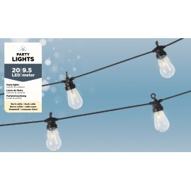 20 Lichts Micro Led Snoer 9,5 Meter Warm Wit