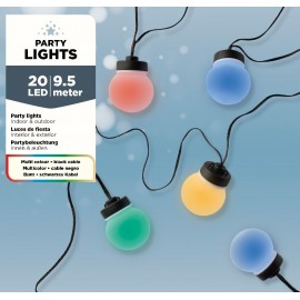 20 Lichts Micro Led Snoer 9,5 Meter Multicolor