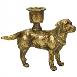 Kandelaar Gouden Hond
