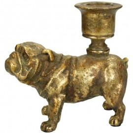 Kandelaar Gouden Bulldog