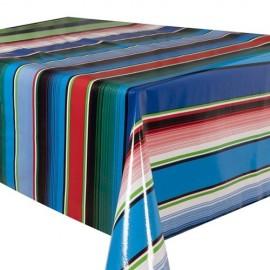 Tafelzeil Saltillo blauw