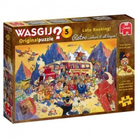 Wasgij Retro Original 5 - Last-minute Booking 1000st.